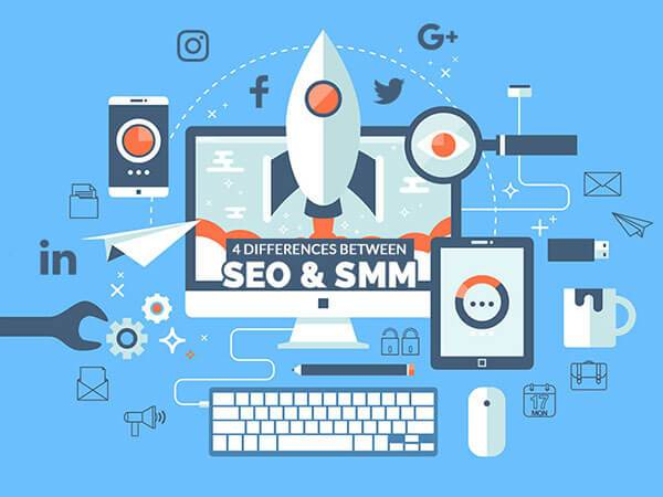 Differences Between SEO & SMM